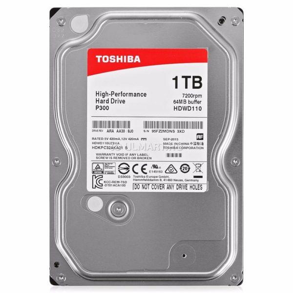 Disco Duro 1 Tera Sata Iii Toshiba Red Np300 7200